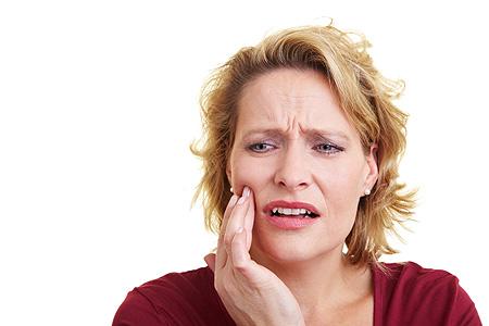Zahn Schmerzen durch/nach abschleifen, bohren, ziehen, OP